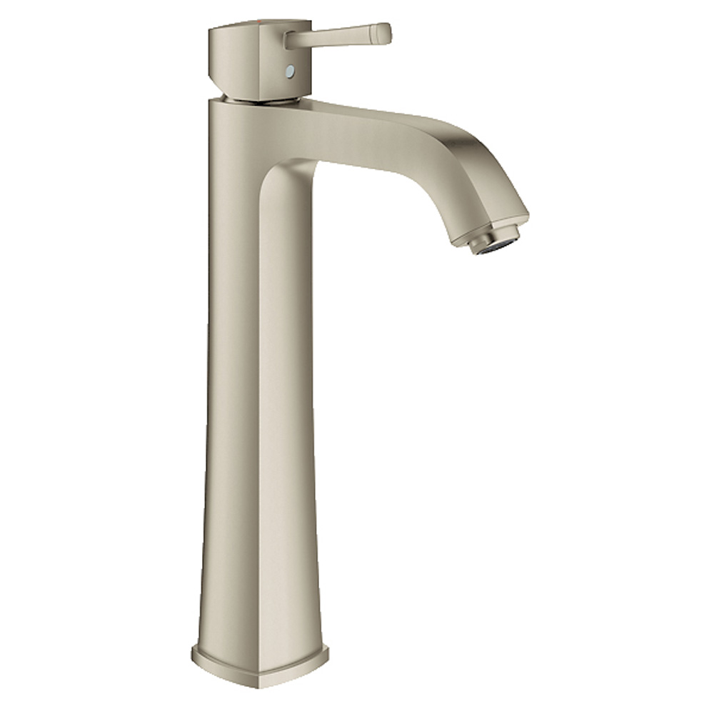 Grohe Grandera Lavatory Tall Single-hole Centerset M-Size, Brushed Nickel GRO 23314EN0 by GROHE