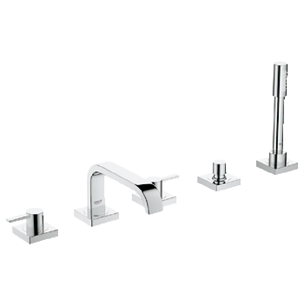 Grohe Allure 5 Hole Roman Bath Faucet Combination