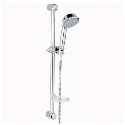 grohe relexa rustic hand shower starlight chrome free. Black Bedroom Furniture Sets. Home Design Ideas