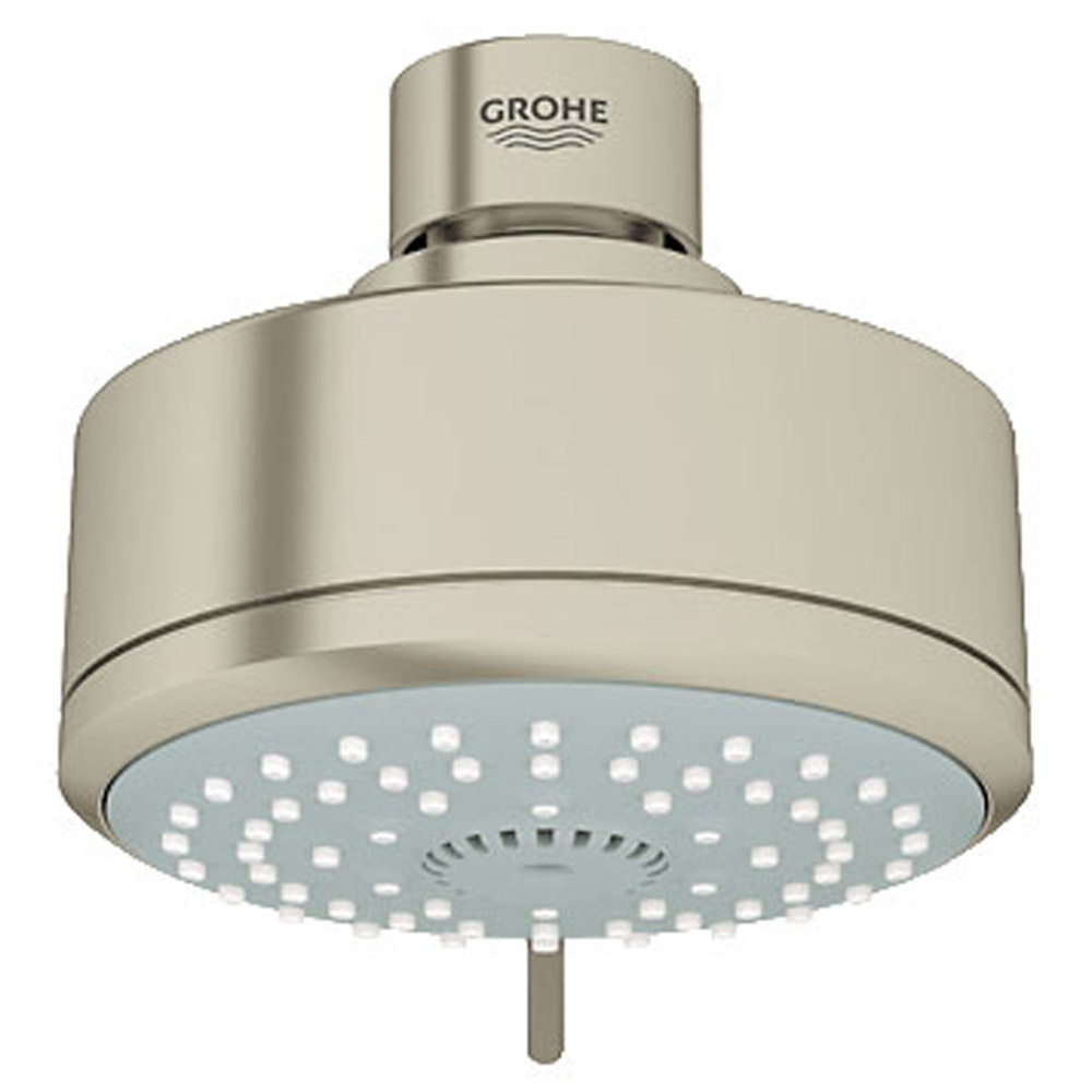 Grohe New Tempesta Cosmopolitan 100 Four-Sprays Head Shower, Brushed Nickel GRO 27591EN0 by GROHE