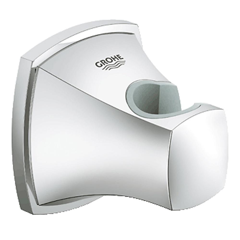 Grohe Grandera Wall Mount Hand Shower Holder, Starlight Chrome GRO 27969000 by GROHE