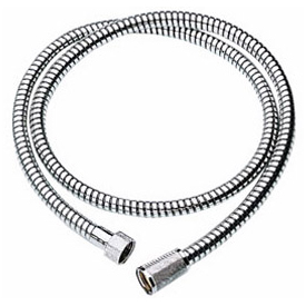 Grohe Duralife Metal Hose, Starlight Chrome by GROHE