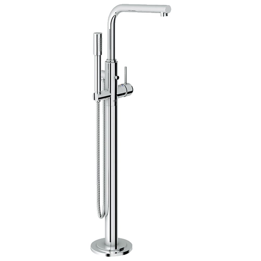Grohe Atrio Freestanding Tub Filler with Hand Shower, Starlight Chrome GRO 32135002 by GROHE