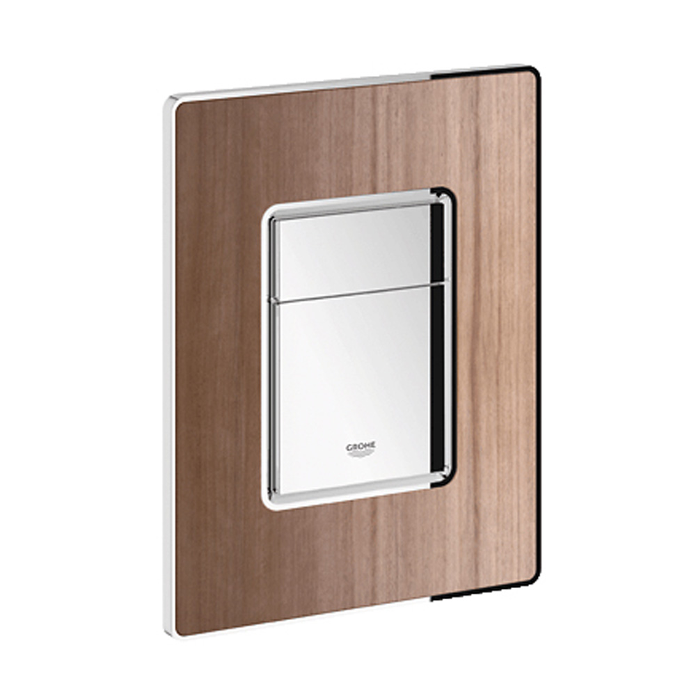 Grohe Skate Cosmopolitan, Dual Flush Wall Plate, HP0 GRO 38849HP0 by GROHE