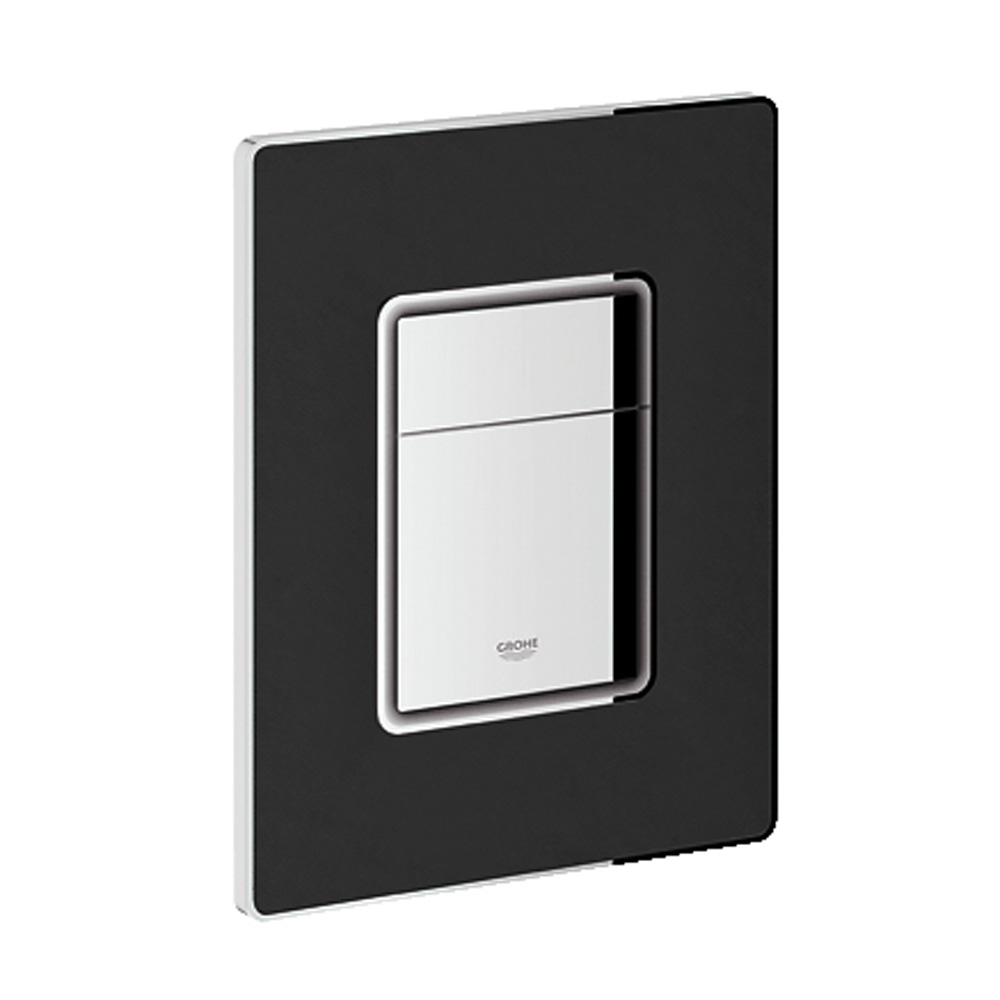 Grohe Skate Cosmopolitan Leather Dual Flush Wall Plate, XN0 GRO 38914XN0 by GROHE