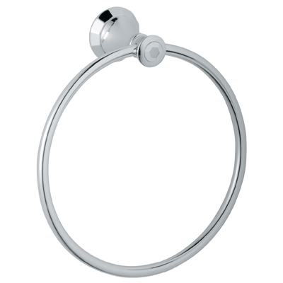 """Grohe Kensington 8"""" Towel Ring, Starlight Chrome by GROHE"""