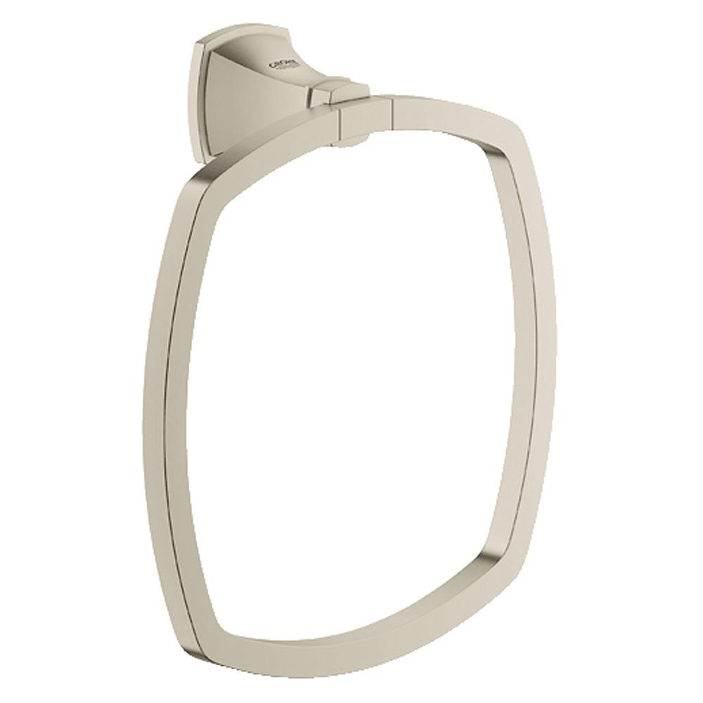 Grohe Grandera Towel Ring, Brushed Nickel GRO 40630EN0 by GROHE