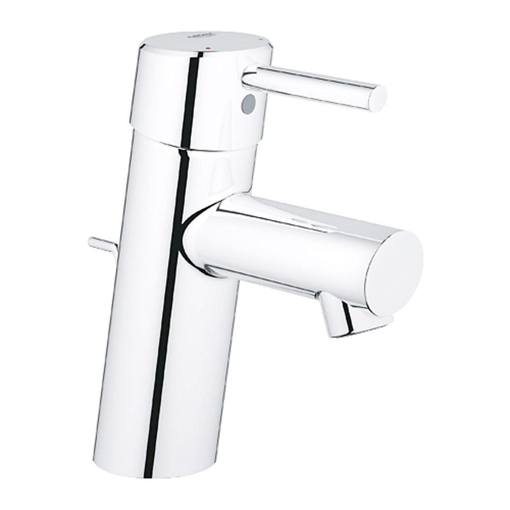 Grohe concetto bath faucet starlight chrome free for Grohe faucets