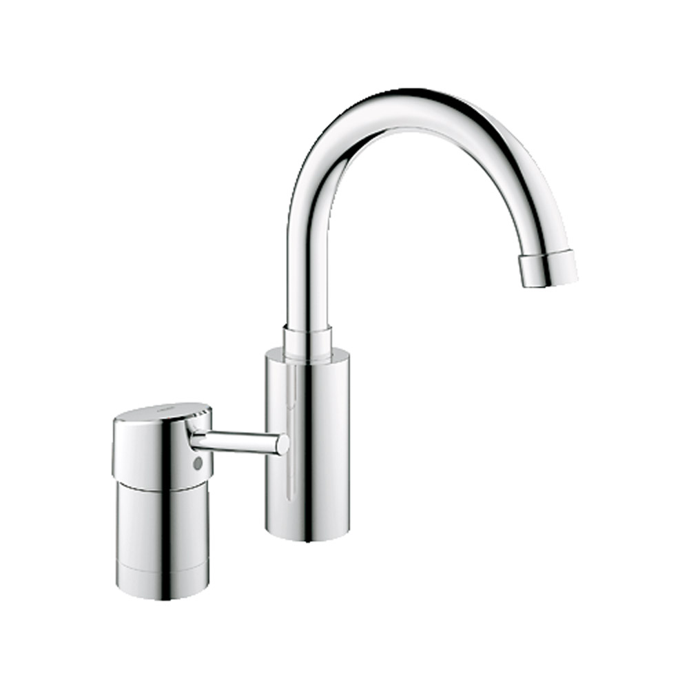 grohe concetto roman tub filler starlight chrome free. Black Bedroom Furniture Sets. Home Design Ideas