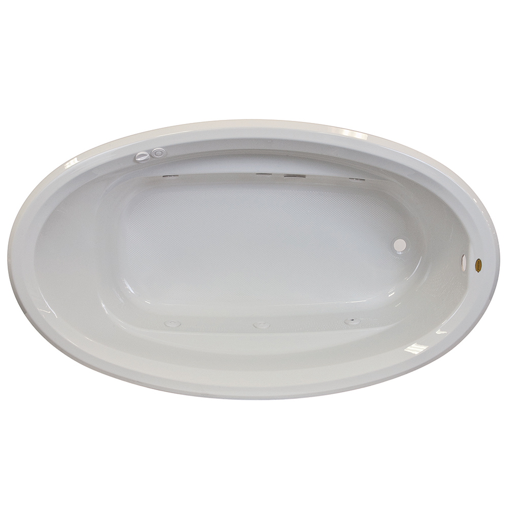 Jacuzzi Signature 7242 Drop In Oval Tub Free Shipping