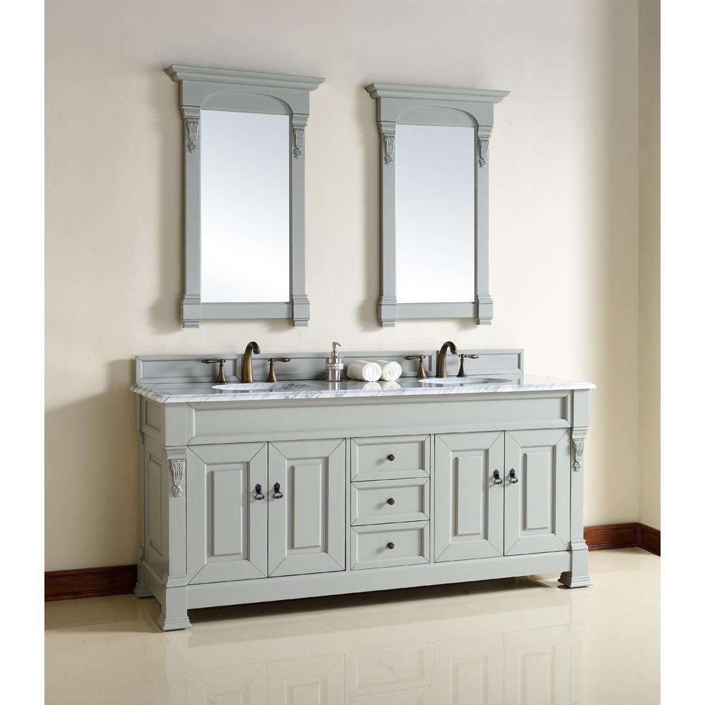 "James Martin 72"" Brookfield Double Cabinet Vanity - Urban ..."