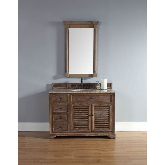 "James Martin 48"" Savannah Single Vanity - Driftwood 238-104-5211"