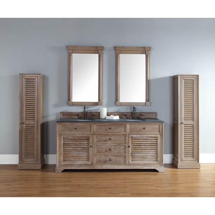 "James Martin 72"" Savannah Double Vanity - Driftwood 238-104-5711"