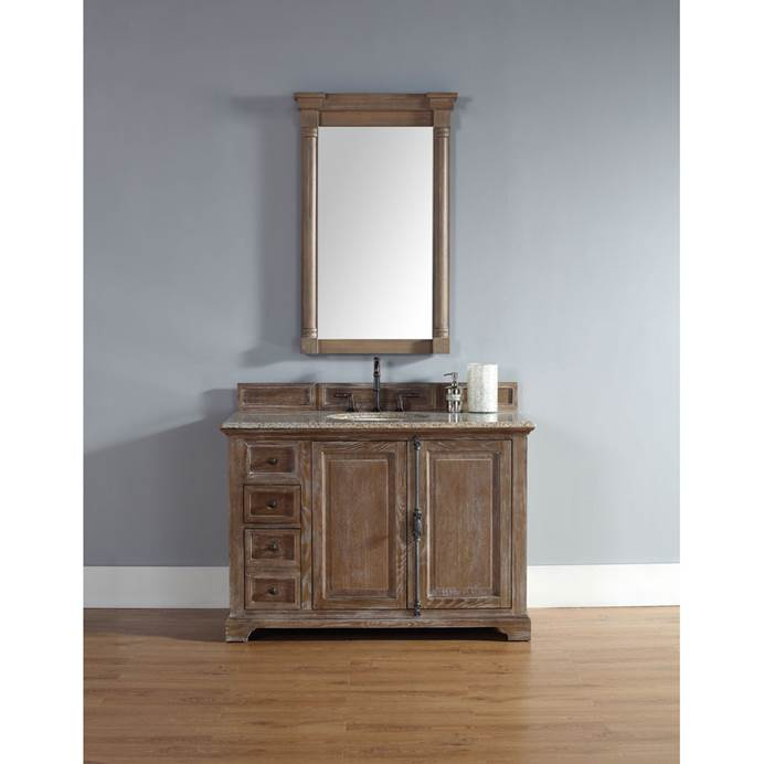 "James Martin 48"" Providence Single Cabinet Vanity - Driftwood 238-105-5211"