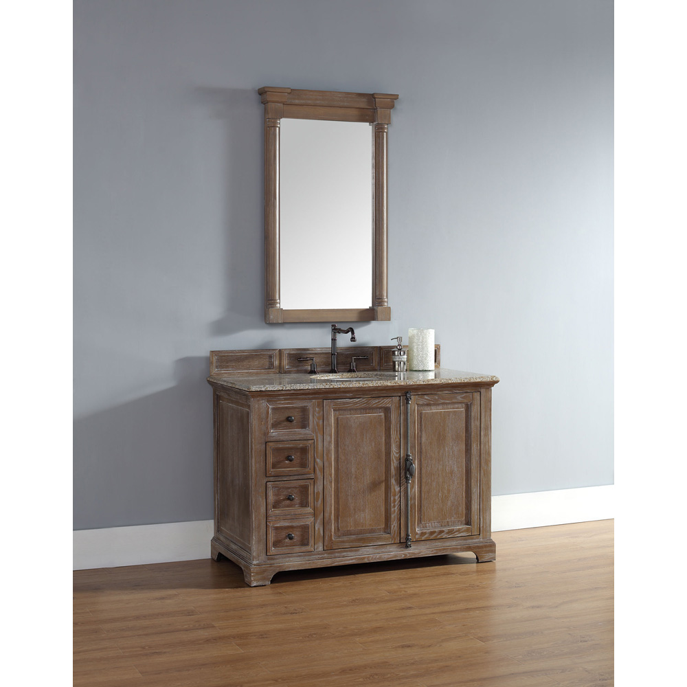 James Martin 48 Providence Single Cabinet Vanity Driftwood Free Shipping Modern Bathroom