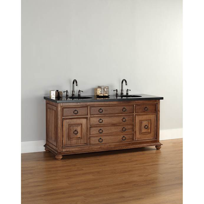 "James Martin 72"" Mykonos Double Vanity - Cinnamon 550-V72-CIN"