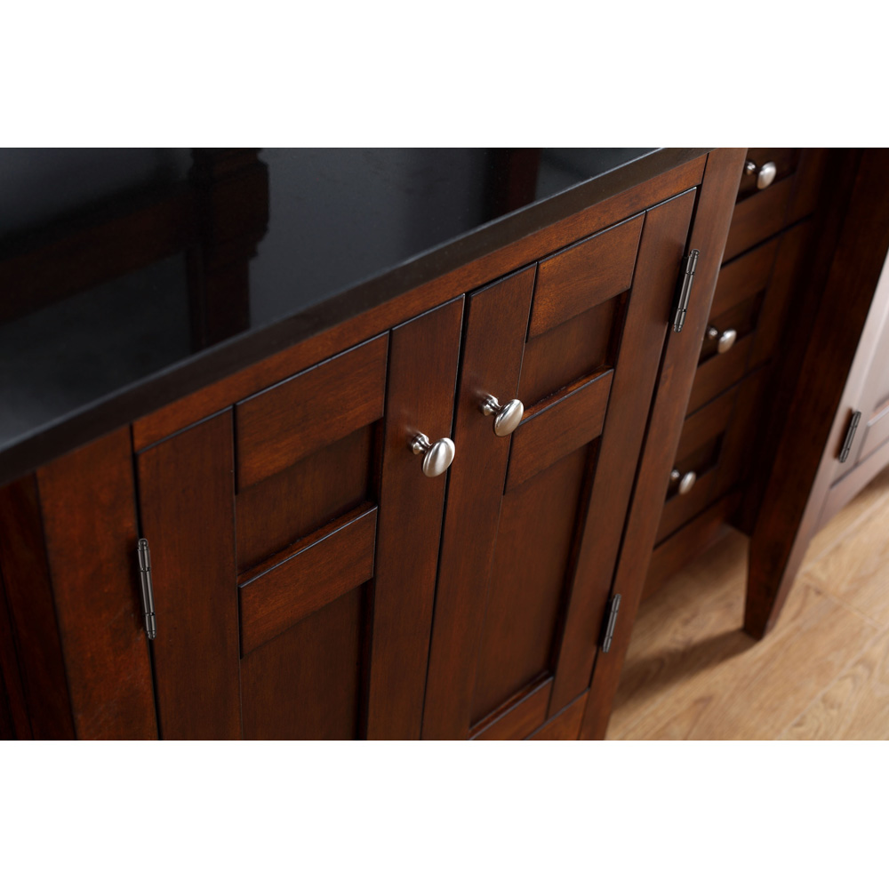 James Martin 72 Quot North Hampton Double Vanity With Absolute