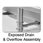 Jason Exposed Overflow Drain Assembly