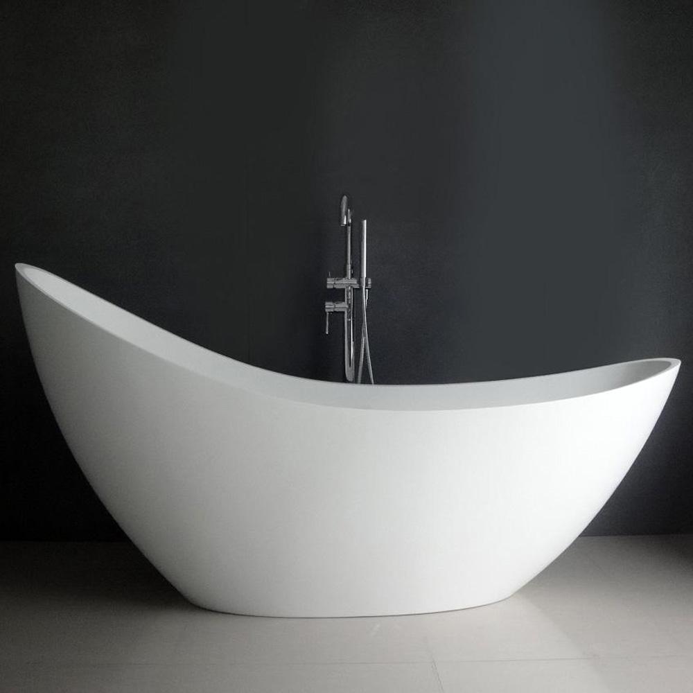 Debbi 74 Quot Soaking Bathtub Matte White Free Shipping