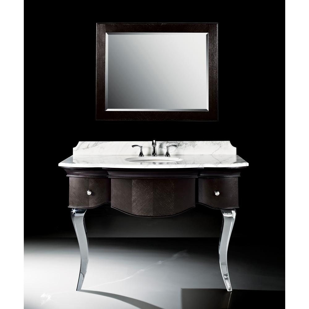 Luxe Burke 51 Quot Single Bathroom Vanity Mica Black Free