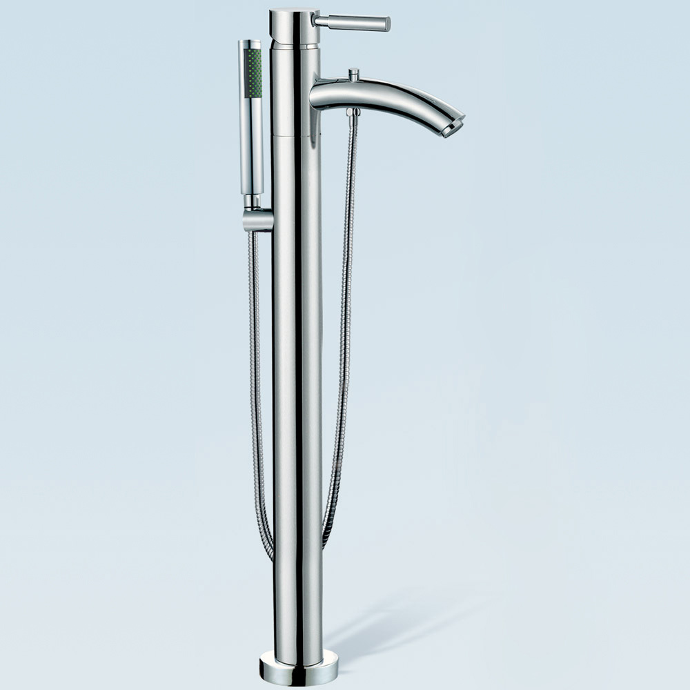 Taron Floor Mounted Bathtub Faucet By Wyndham Collection