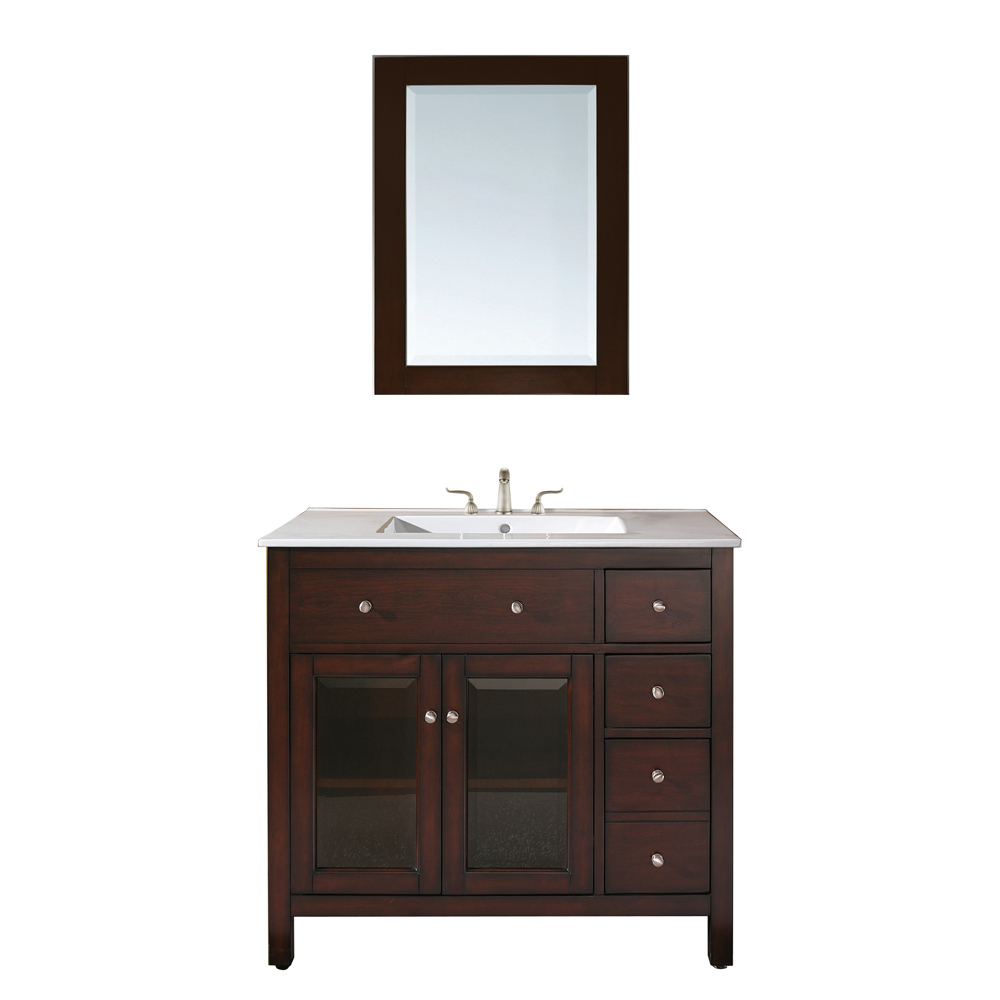 Bathroom Vanity Lights Single : Avanity Lexington 36