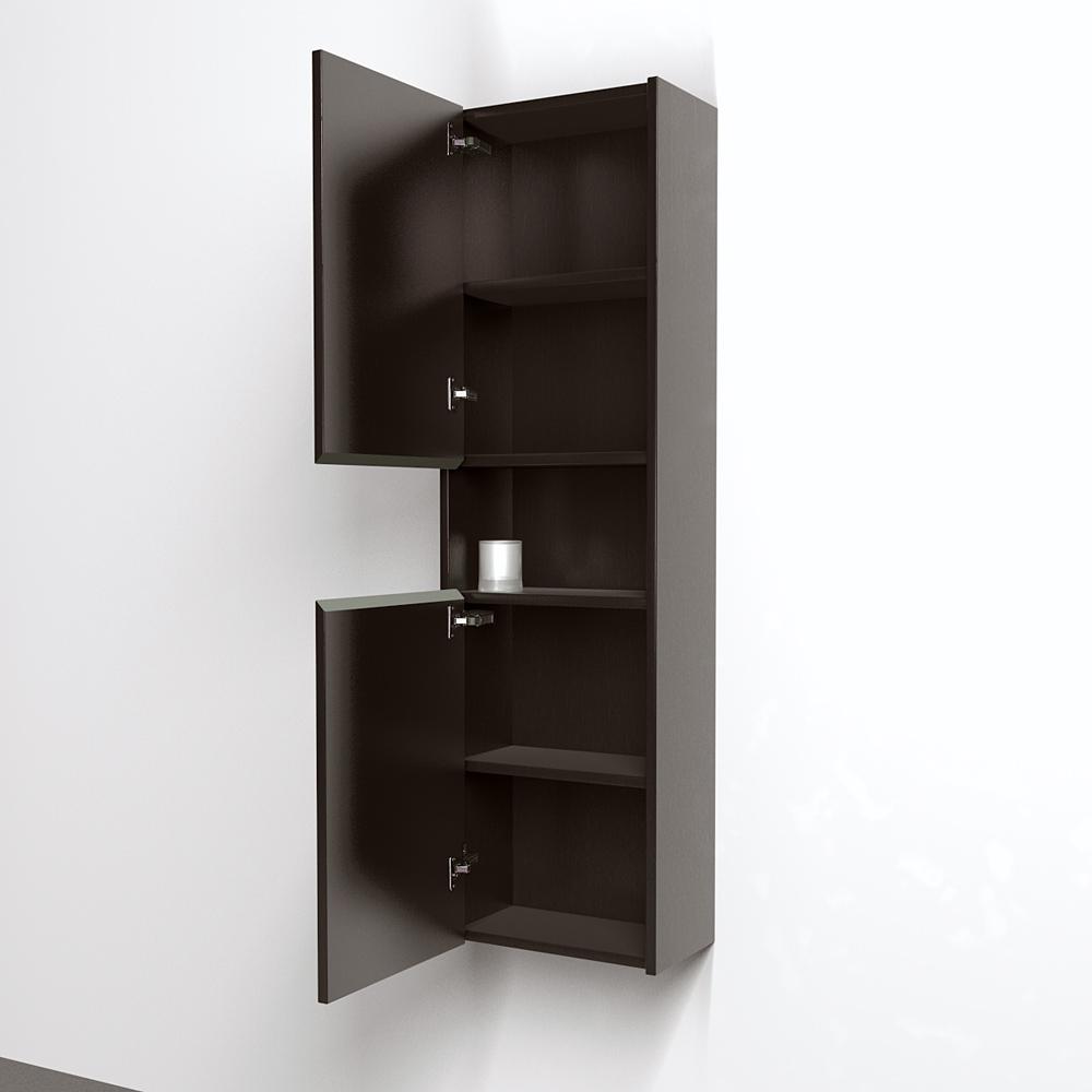 Sarah Storage Cabinet By Wyndham Collection Espresso
