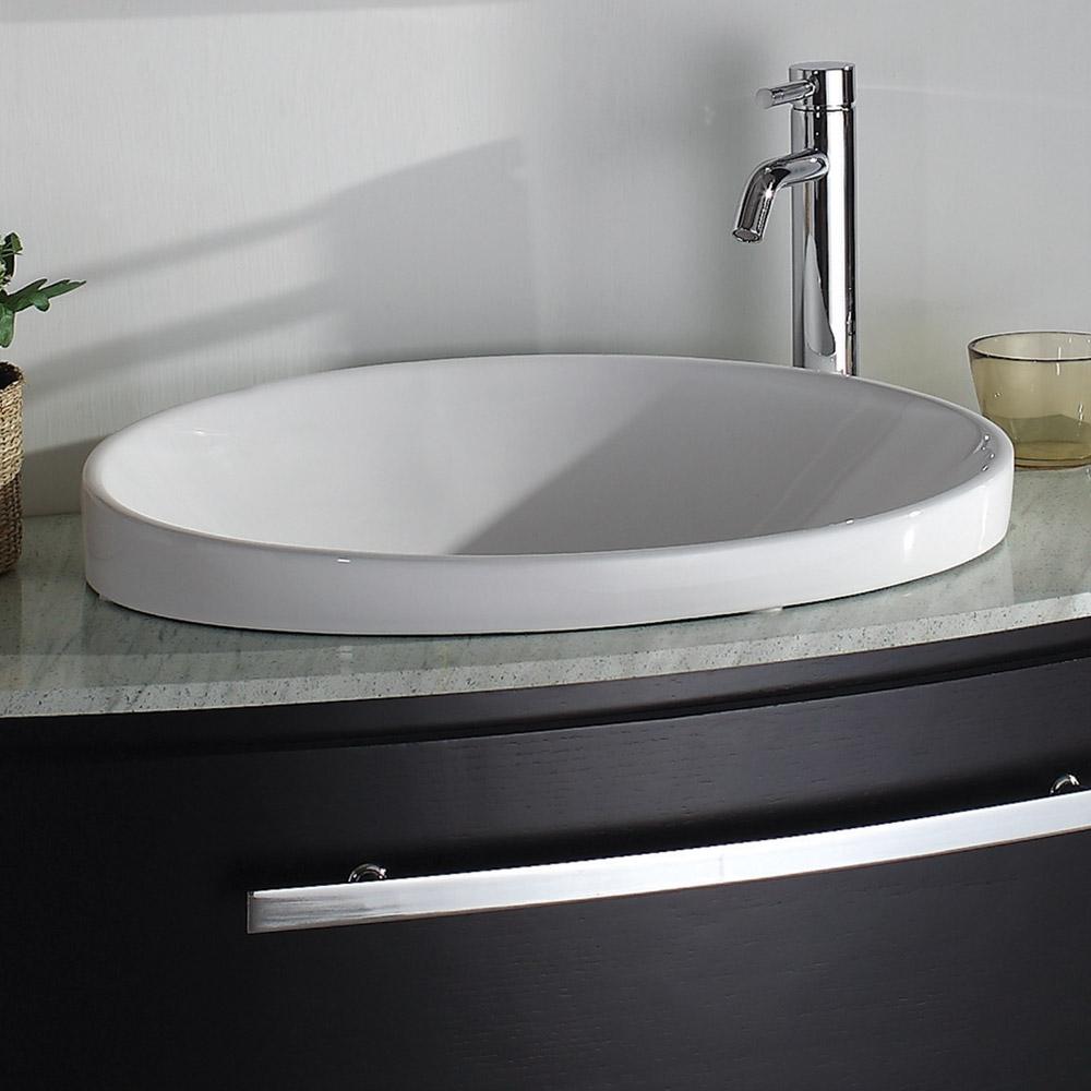 Allura Porcelain Sink Free Shipping Modern Bathroom