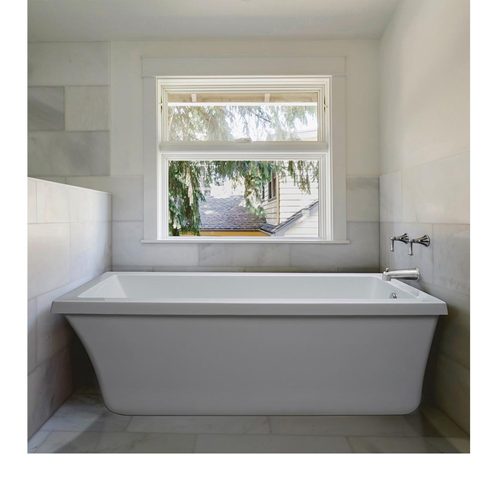 "MTI Basics Freestanding Bathtub, 66"" x 32"" x 20"" MBCRFS6632 by MTI"
