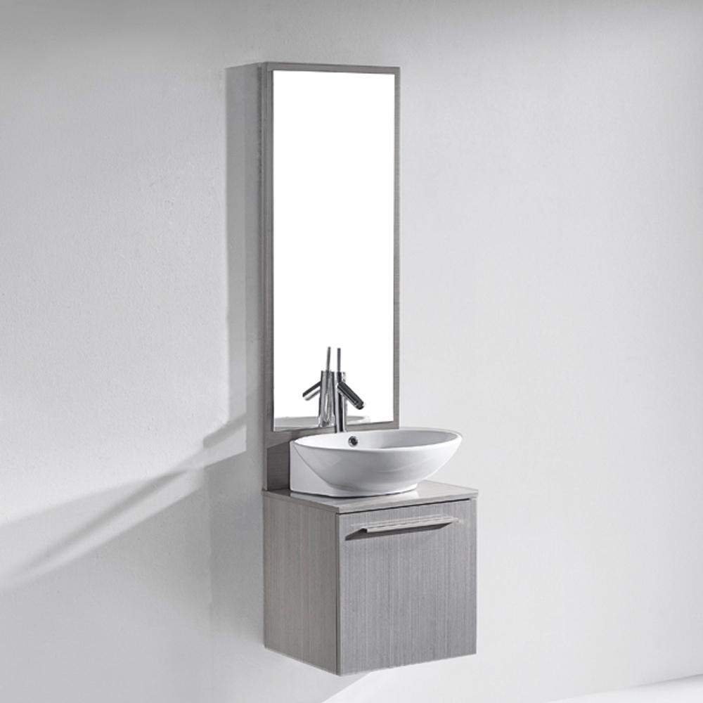 Madeli Alassio 18 Bathroom Vanity Ash Grey Free