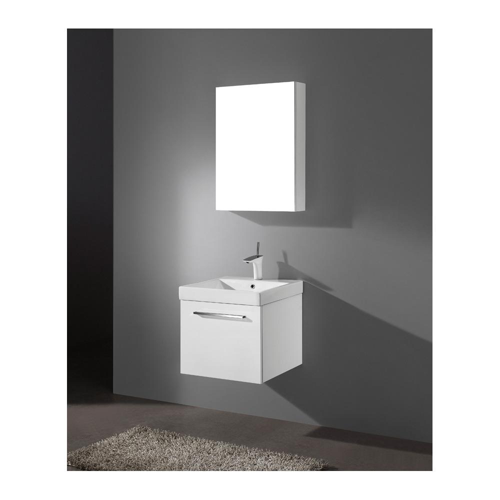 Madeli Arezzo 20 Quot Bathroom Vanity Glossy White Free