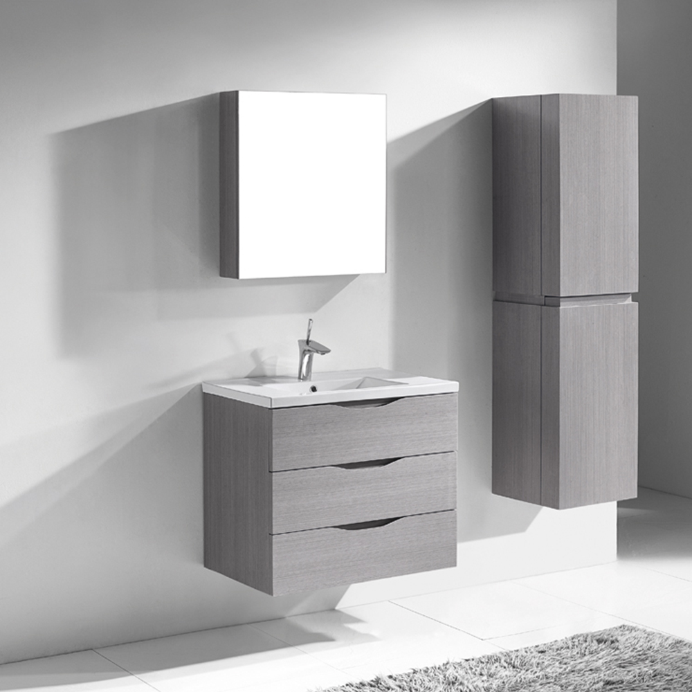 Madeli Bolano 30 Quot Bathroom Vanity Ash Grey Old Free
