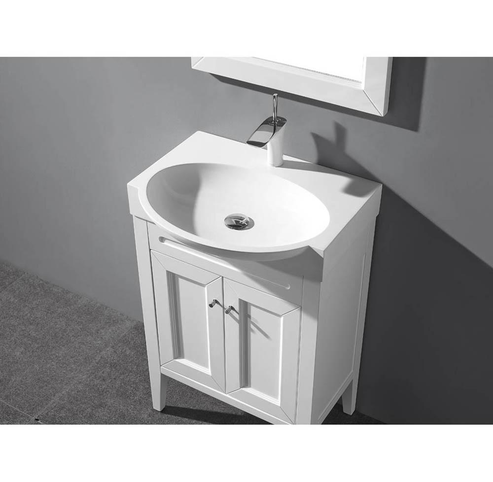 Madeli Sanremo 24 Quot Bathroom Vanity Matte White Free