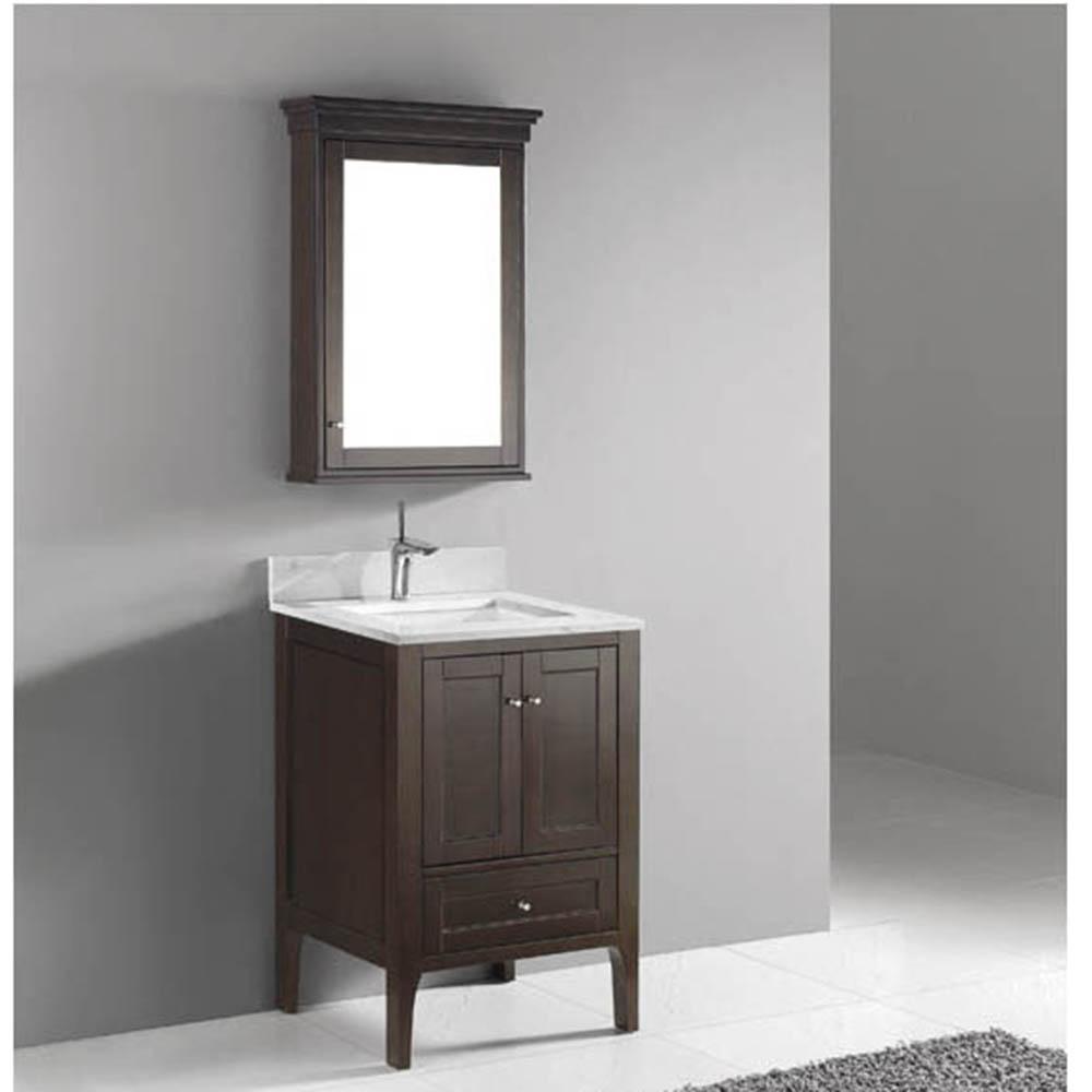 Madeli Torino 24 Bathroom Vanity Walnut Free Shipping