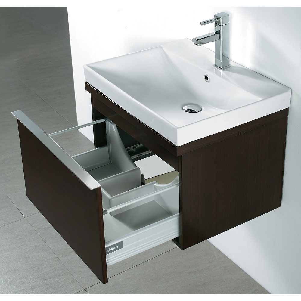Madeli Venasca 24 Quot Bathroom Vanity With Integrated Basin