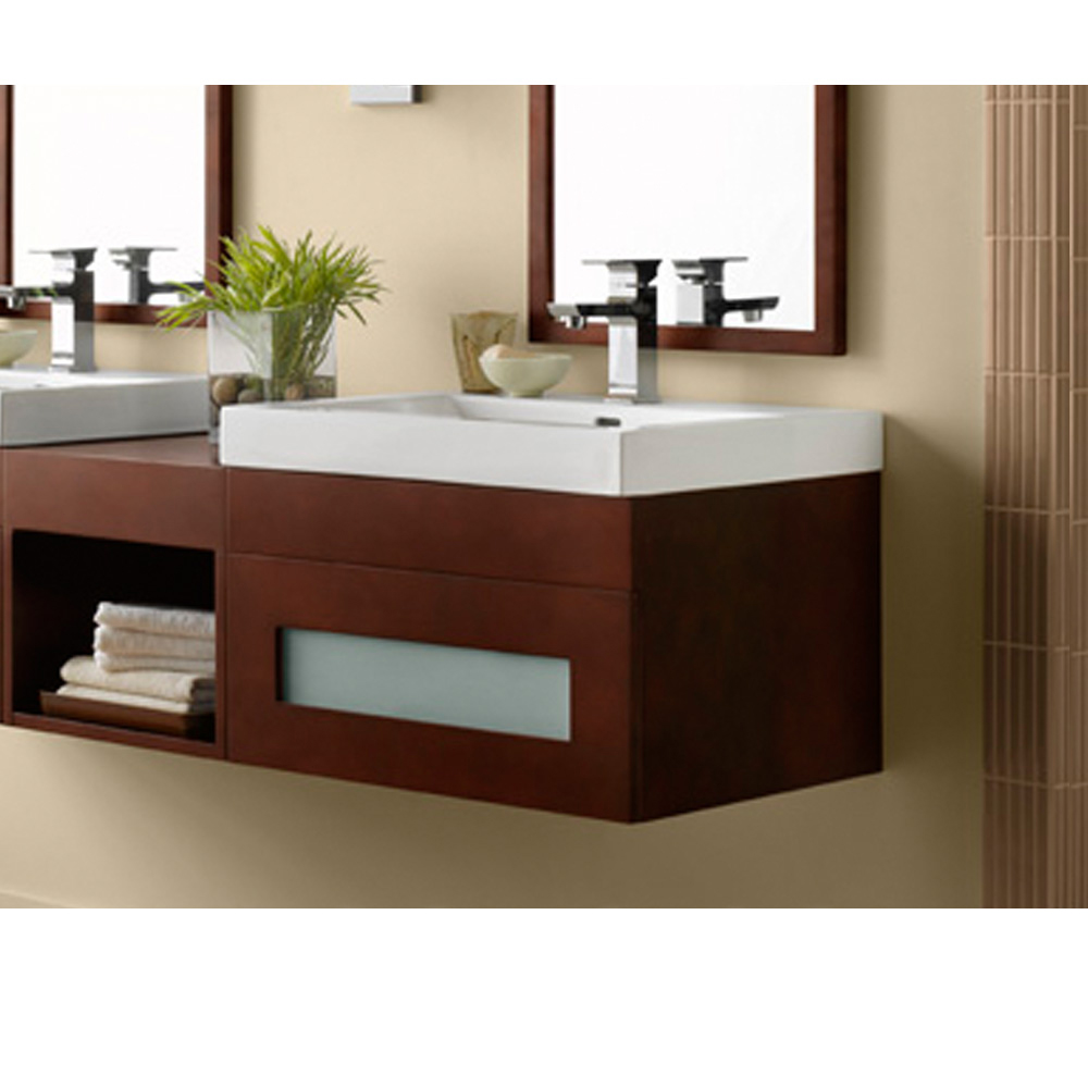 Ronbow rebecca 23 vanity sinktop free shipping modern bathroom - Bathroom sinks and cabinets ...