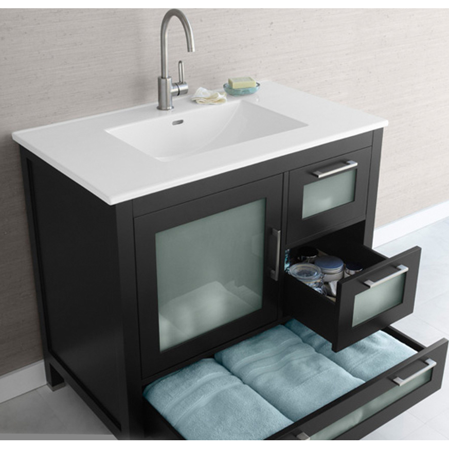 ronbow bathroom sinks ronbow athena 36 quot vanity sinktop free shipping modern 14249