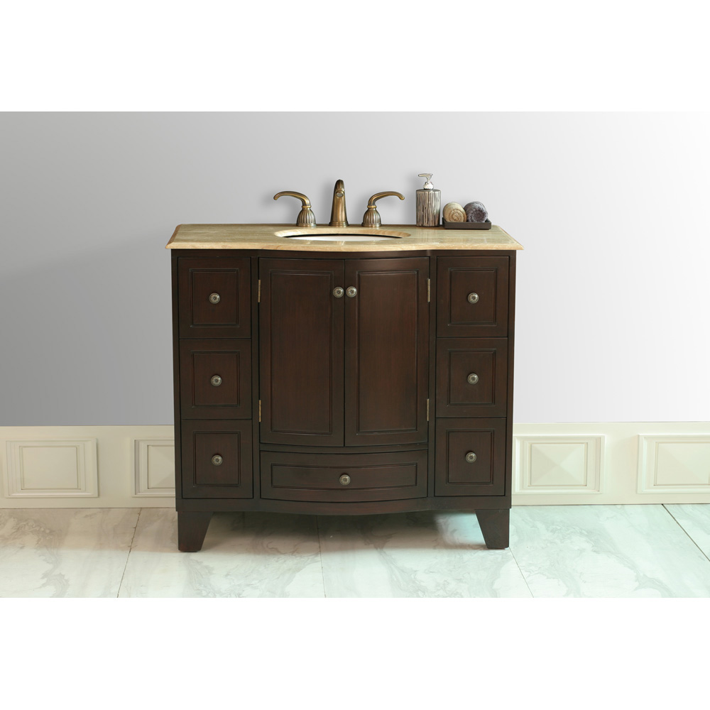 Stufurhome 40 Quot Grand Cheswick Single Sink Vanity With