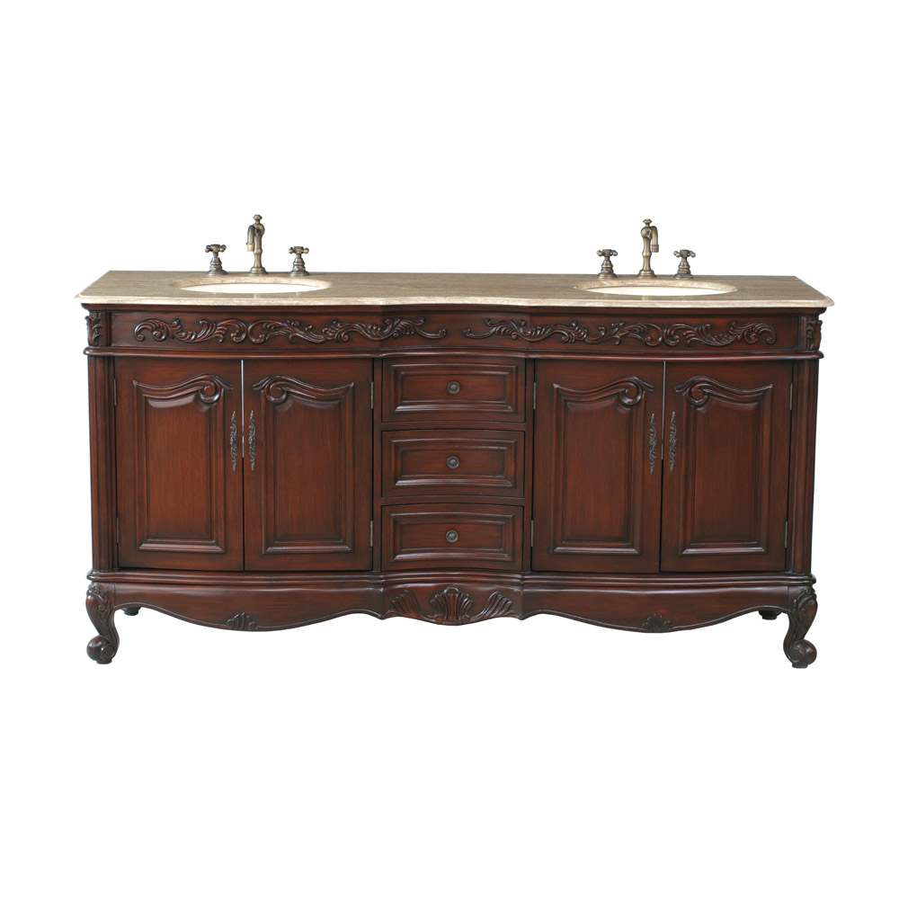 bathroom vanities sink stufurhome 72 quot saturn sink vanity with travertine 11906