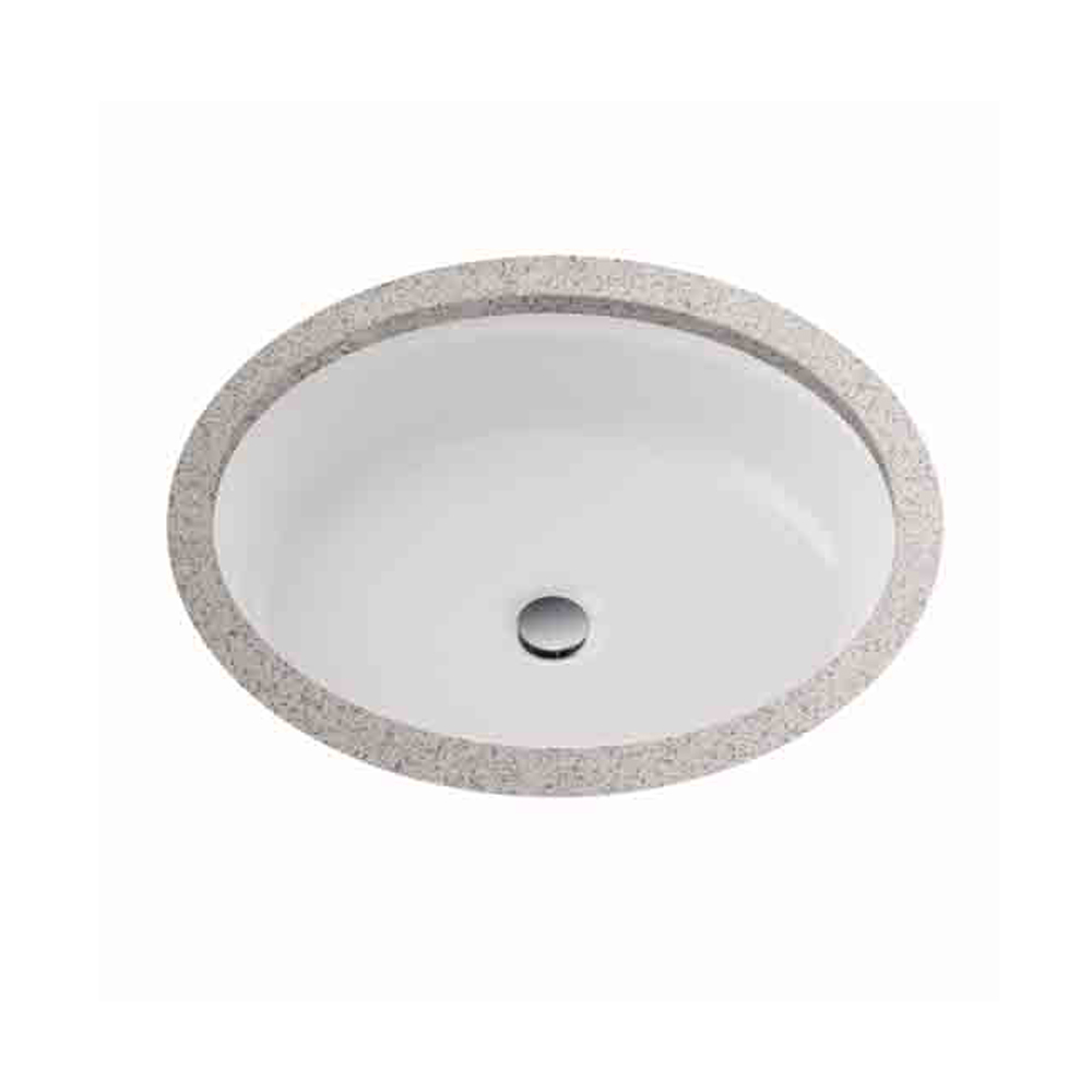 "Toto Atherton 16"" Oval Undercounter Lavatory, Cotton White LT231.01 by Toto"