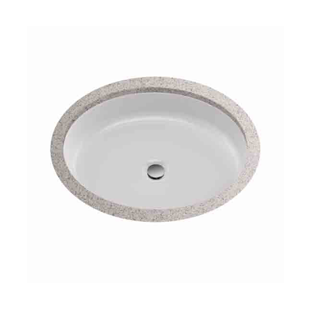 """Toto Atherton 18"""" Oval Undercounter Lavatory, Cotton White LT233.01 by Toto"""