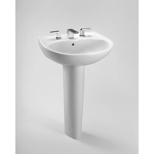 Toto Supreme Lavatory w/ SanaGloss, Sink Only by Toto