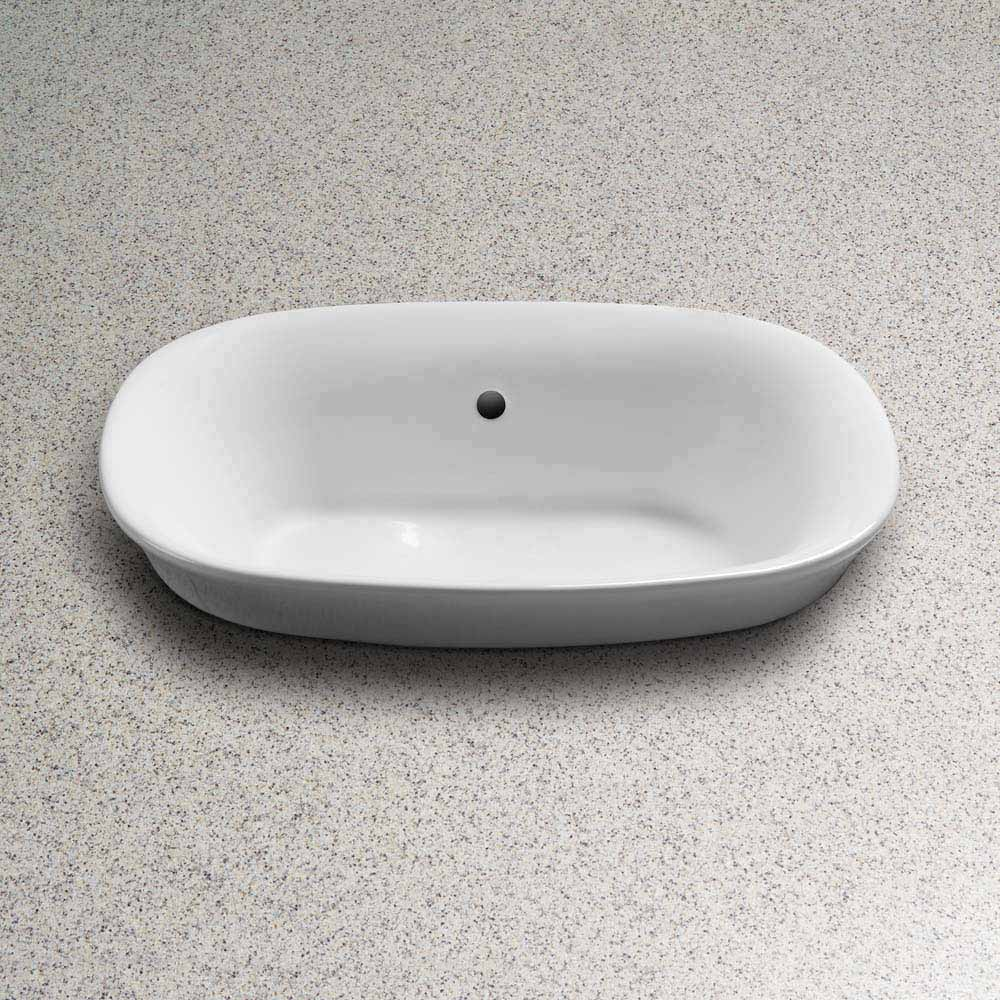 Toto Maris Semi Recessed Vessel Lavatory Free Shipping Modern Bathroom