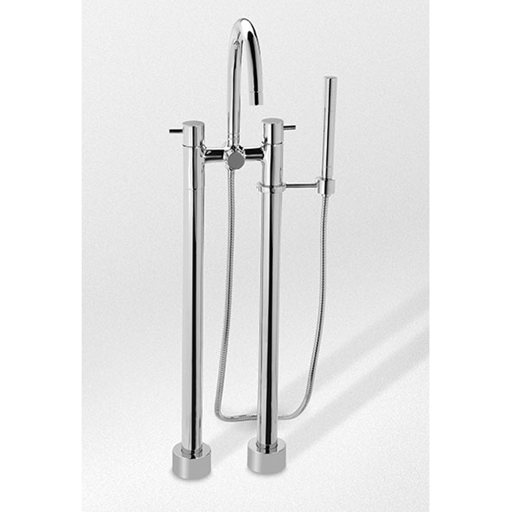 TOTO Two Handle Freestanding Tub Filler Free Shipping Modern Bathroom