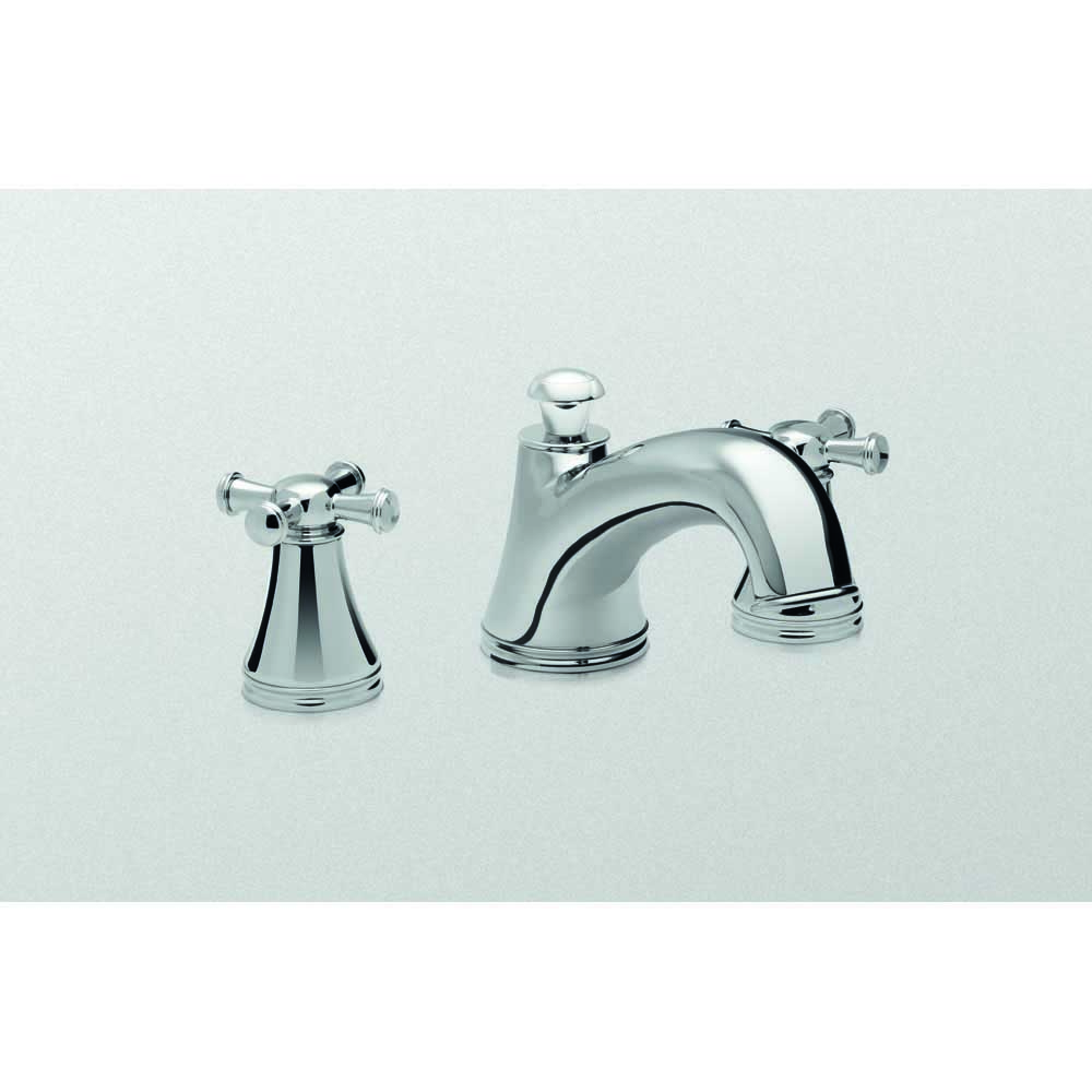 Toto Vivian Deck-Mount Tub Filler Trim with Cross Handles TB220DD by Toto