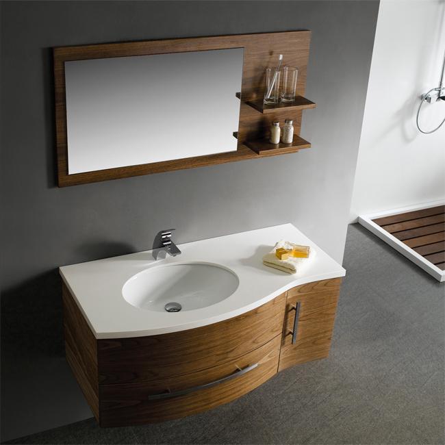 Vigo 44 Single Bathroom Vanity With