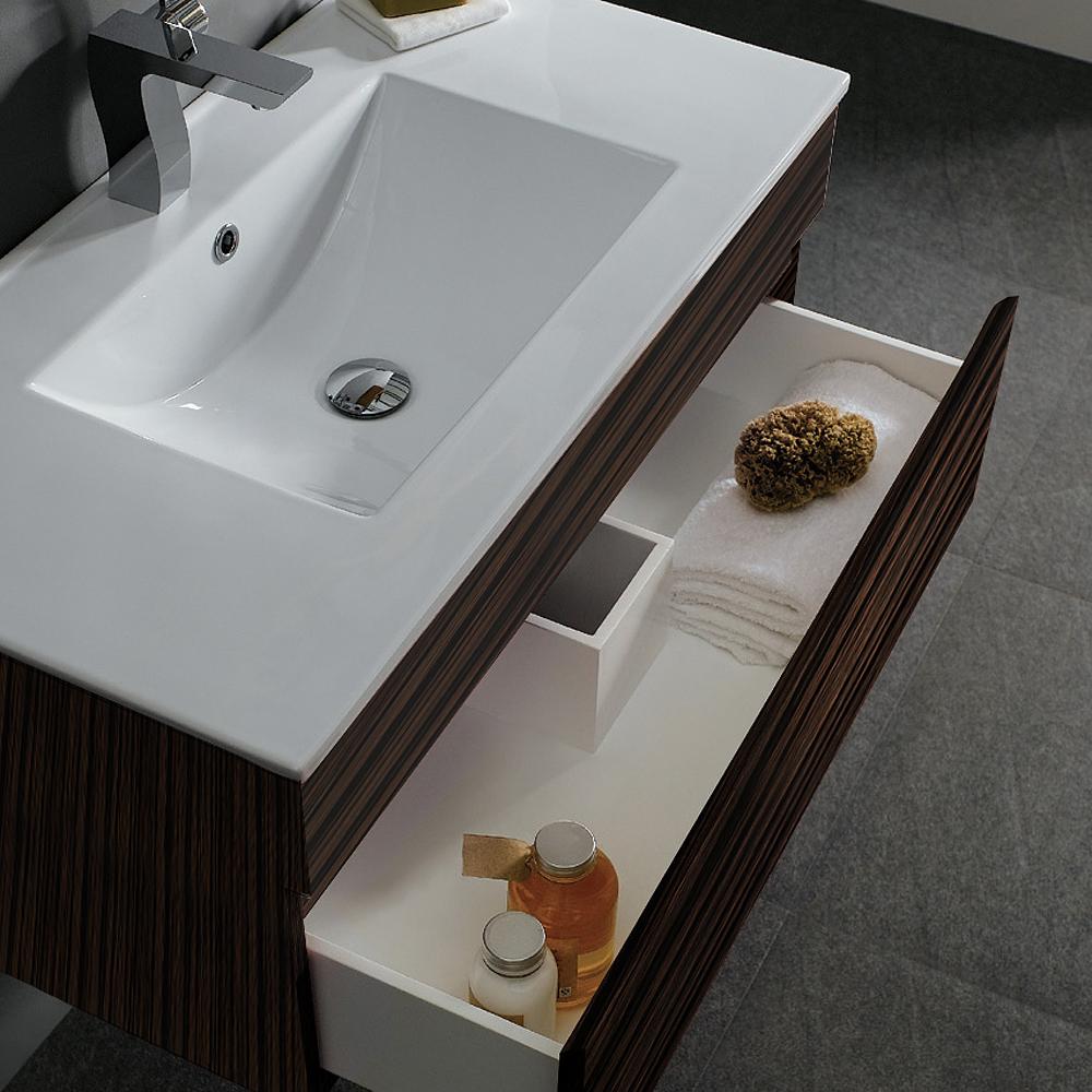 Vigo 35 Quot Single Bathroom Vanity Ebony Free Shipping