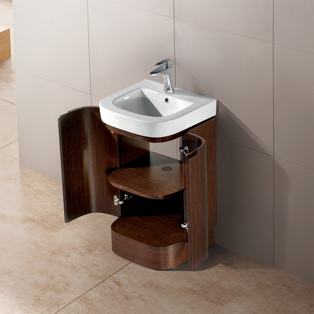 Vigo 20 Quot Calantha Single Bathroom Vanity Wenge Free Shipping Modern Bathroom
