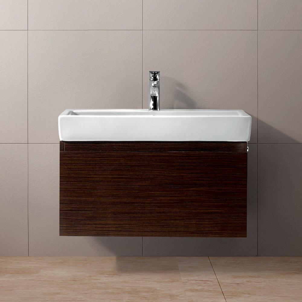 Vigo 30 agalia single bathroom vanity wenge free for 30 modern bathroom vanity
