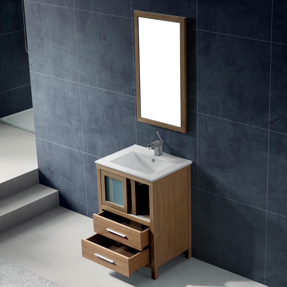 Vigo 24 Quot Alessandro Single Bathroom Vanity With Mirror
